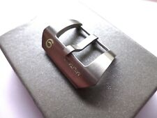 24mm Brushed Number 9 Buckle compatible Panerai strap - Europe shipping
