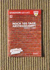 Stadion Aktuell, VFB STUTTGART: SC FREIBURG , 10/11