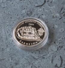 Slowakei  200 Kronen 2004 PP , Silber *** Bardejov