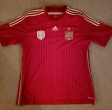 Spain National Soccer Team Soccer Jersey By Adidas - Mens XL