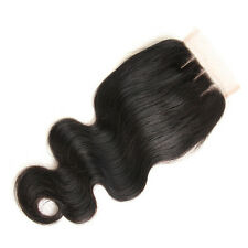 Wave Closure Cheap Hair Brazilian Lace Closure Middle Free Three Part Cheveux