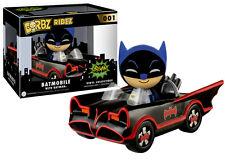 Batmobile & BATMAN-PERSONAGGIO IN VINILE-FUNKO dorbz Ridez