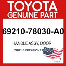 TOYOTA GENUINE 6921078030A0 HANDLE ASSY, REAR DOOR OUTSIDE, RH 69210-78030-A0