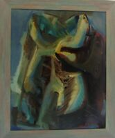 "Rudolf Rothe ""Amorphe Figuration"" Ölgemälde, signiert"