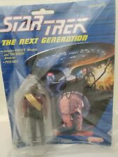 Star Trek Next Generation Lieutenant Worf 1988 autographed