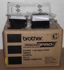 22 x 60 mm 6 pezzi Brother SC2000 Timbro PR2260B6P Nero