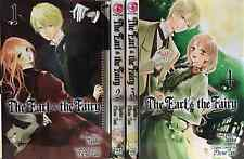 The Earl and The Fairy  (Vol. 1- 4) English Manga Graphic Novels Set New