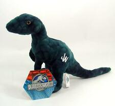 "New Jurassic World 7"" Plush Velociraptor Blue"