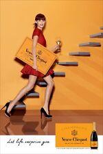 Veuve Clicquot Let Life Surprise You Poster 18 By 27