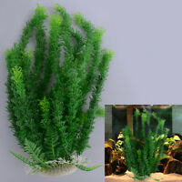45cm Grün künstliche Aquarium Deko Pflanzen Wasserpflanzen Aquariumpflanzen
