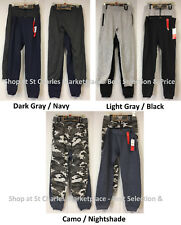 Lee Boys 2 Pack Fleece Relaxed Fit Jogger - Pick Size & Color, New with Tags