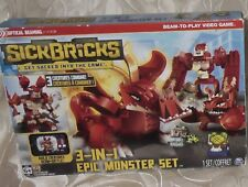 SICKBRICKS 3-in-1 Epic Monster Set BUILDING BLOCKS Creatures FREE GAME DownLoad