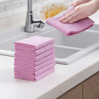 Absorbent Wash Cloth Car Kitchen Cleaning Microfiber Cleaning Towels Cloths