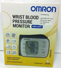 Omron Blood Pressure Monitor Wrist Premium HEM 6221