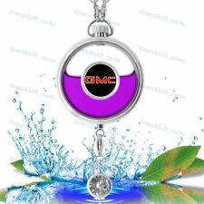 For GMC Car Air Freshener Perfume Bottle Diffuser Pendant DIY - Lavender Scent