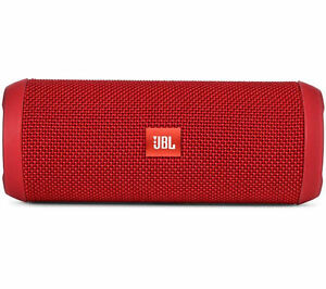JBL Flip 3 Splashproof Portable Stereo Bluetooth Speaker (Red)