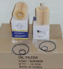 Wholesales Price 12 Engine Oil Filter L25609  Made In Korea Fits:Lexus & Toyota