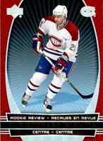 2006-07 Mcdonald's Upper Deck Rookie Review Christopher Higgins #RR14