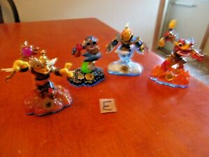 Lot of 4 Activision Skylanders Imaginators 2013 Swappable Ffgures