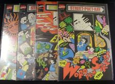 STREET POET RAY 1-4 MARVEL COMIC SET COMPLETE POETRY REDMOND HOSIZAWA 1990 VF+