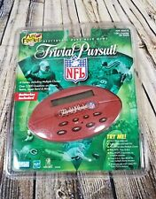 NEW NFL Trivial Pursuit Electronic Handheld Trivia Game Hasbro Parker Bros 1998