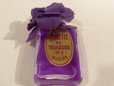 """ Violette de Toulouse "" mit lila Kunststoff Blume v.  Berdoues  Vintage (2)"