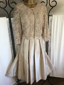 Stunning Eliza J Dress And Bolero Size 14