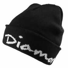Diamond Supply Co. Black OG Script Cuff Fold Beanie Winter Skate Hat NWT