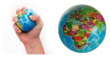 Soft Bouncing Ball Earth Foam Globe Atlas Planet World Map Palm Stress Relief