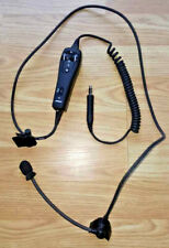 BOSE A20 ANR AVIATION HEADSET GENTEX MICROPHONE & 327070 CONTROL MODULE CABLE