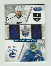 Penner,Luongo 12-13 Panini Certified Path To The Cup Jersey 2012-13 # 020/250