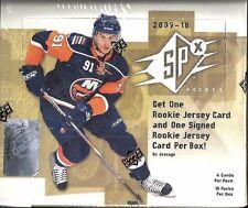 2009-10 Upper Deck SPx Factory Sealed Hockey Hobby Box   John Tavares Auto RC ??