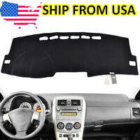 Xukey Dash Cover Dash Mat Dashmat Dashboard Cover For Toyota Corolla 2009-2013