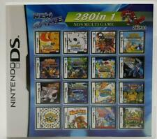 Video Game DS 3DS Cartridge Card Game Console 280 In 1 MULTI CART