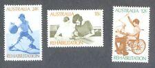 Australia-Rehabilitation mnh set-Medicine-Medical 1972-Rehabilitation