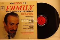 "Mitch Miller - Family Sing Along with Mitch - 1962 Columbia Records LP 12"" (VG)"