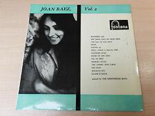 EX-/EX- !! Joan Baez/Vol.2/1961 Fontana LP/Folk