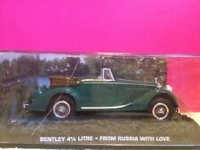 007 SUPERBE BENTLEY 4 1/4 LITRE FROM RUSSIA WITH LOVE EN BOITE ech 1/43 Q8
