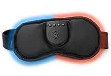 New Sharper Image Hot & Cold Eye Mask w/ Soothing Sounds Speaker Heated 203209