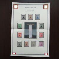 Germany Nazi 1938 1942 Stamps MNH Party Emblem Swastika Eagle FRANCHISE WWII 3rd