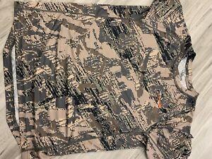 sitka core lightweight crew short sleeve opitfade mens shirt