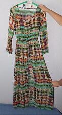 NWT  Women's     Zoe Baer  BOHO Shear cover up  Hippie    dress        Small
