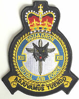 RAF no.13 Squadron Royal Air Force Military Embroidered Patch MOD Approved
