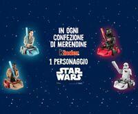 STAR WARS - PERSONAGGI A SCELTA - MERENDINE KINDER ITALIA 2020