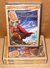 TEN COMMANDMENTS Special Collector's Edition, The (2-DVD 2004) WIDESCREEN - NEW