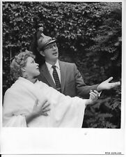 1950s original  hollywood photo, publicist jim byron,starlet petergowland stamp2