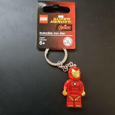 Lego Marvel Super Heroes - Invincible Iron Man Keyring/Keychain -