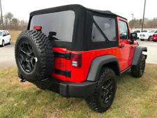 2010-2017 Jeep Wrangler 2 Dr Premium Twill Replacement Soft Top & Tinted Windows