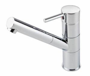 Spültischbatterie Einhandmischer Wasserhahn Hochdruck Küche Armatur chrom