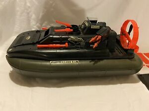 Vintage GI Joe Night Force Killer Whale Hovercraft 1984 Incomplete